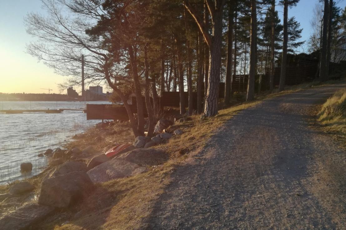 Rantaraitti on vihdoin viimeisteltävä MatinkylänNuottaniemessä